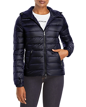 MONCLER BLES HOODED DOWN PUFFER COAT
