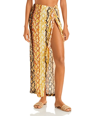 L*Space Mia Printed Cover Up Skirt