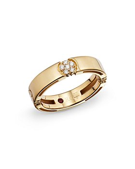 Roberto Coin - 18K Yellow Gold Diamond Daisy Ring - 100% Exclusive