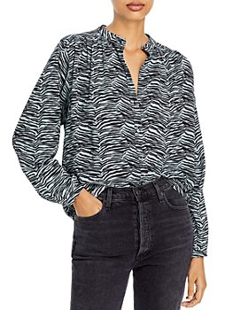 Rebecca Taylor - Printed Button Front Shirt
