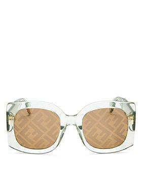 Fendi - Oversized Square Sunglasses, 53mm