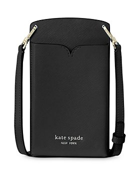 kate spade new york - Spencer Saffiano Leather Crossbody Phone Case