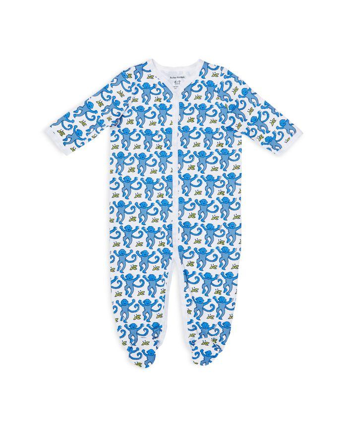 Roller Rabbit Unisex Monkey Footie - Baby  | Bloomingdale's