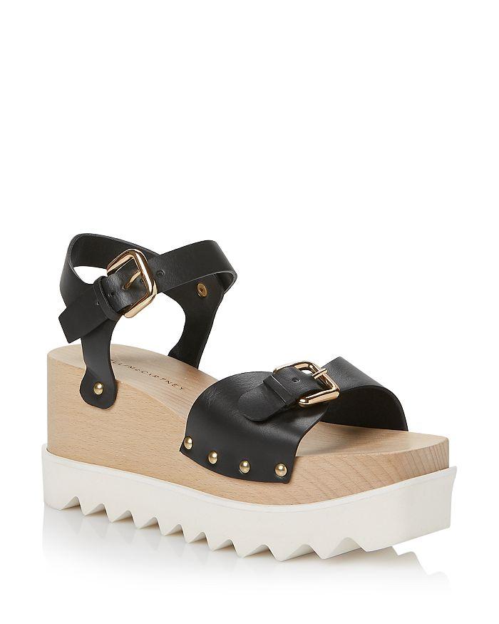 Stella McCartney - Women's Elyse Wedge Platform Sandals