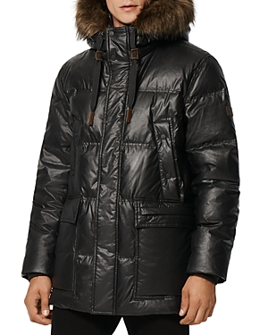 Galveston Quilted Faux Fur Trimmed Hood Down Parka