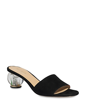 Kate Spade KATE SPADE NEW YORK WOMEN'S POLISHED SLIP ON SANDALS
