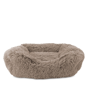 Precious Tails SUPER LUX SHAGGY CUDDLER PET BED, LARGE
