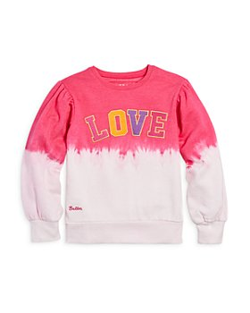 Butter - Girls' Dip Dye Graphic Sweatshirt - Little Kid, Big Kid