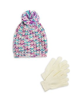 Capelli - Girls' Knit Hat & Gloves Set - Little Kid, Big Kid