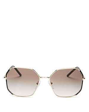 Prada Women\\\'s Octagonal Sunglasses, 58mm