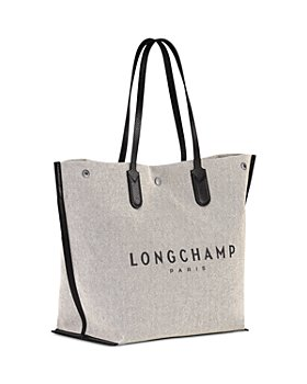 Longchamp - Essential Toile Large Canvas Tote