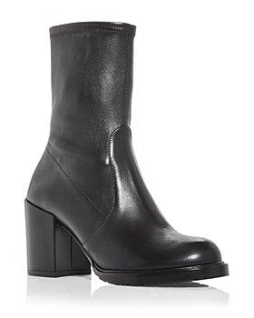 Stuart Weitzman - Women's Dalenna Block Heel Boots