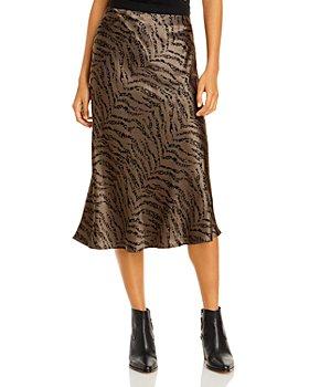Rails - Berlin Zebra Striped Satin Skirt