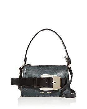 Proenza Schouler - Grainy Calf Buckle Small Zip Bag