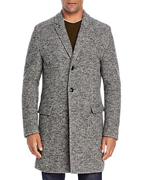 HUGO - HUGO Migor Regular Fit Wool-Blend Two-Button Coat