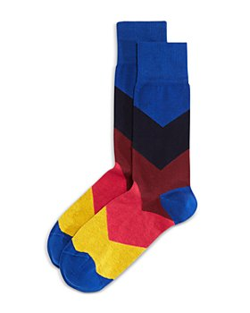 PS Paul Smith - Chevron Stripe Crew Socks
