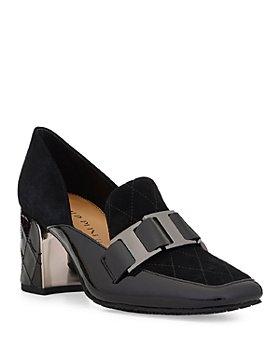 Donald Pliner - Women's Caresse Square Toe Dress Pumps