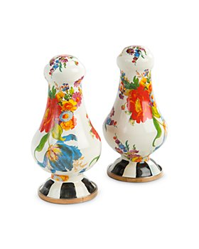 Mackenzie-Childs - Flower Market Large Salt & Pepper Shakers