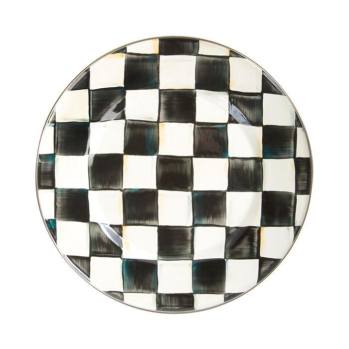 Mackenzie-Childs - Courtly Check Enamel Dinner Plate