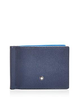 Montblanc - Meisterstück Leather Bi Fold Money Clip Wallet