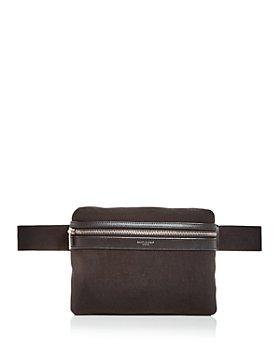 Saint Laurent - City Pouch Canvas Belt Bag