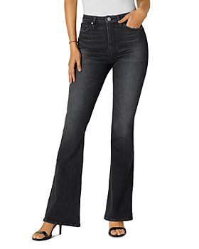 Hudson - Holly High-Rise Flared Jeans in Night Song