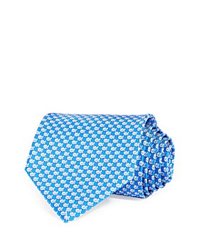Salvatore Ferragamo - Birds Neat Silk Classic Tie