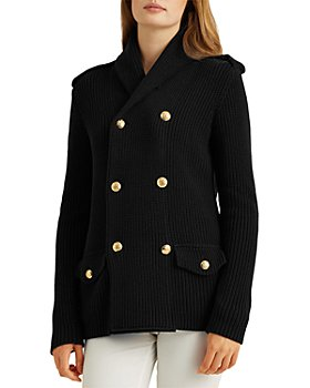 Ralph Lauren - Double Breasted Knit Jacket