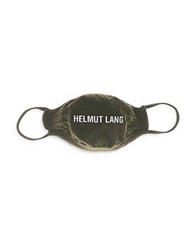 Helmut Lang - Logo Face Mask