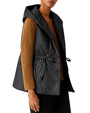 Eileen Fisher HOODED VEST