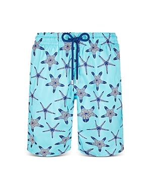 Vilebrequin Packable Starfish Dance Swim Trunks