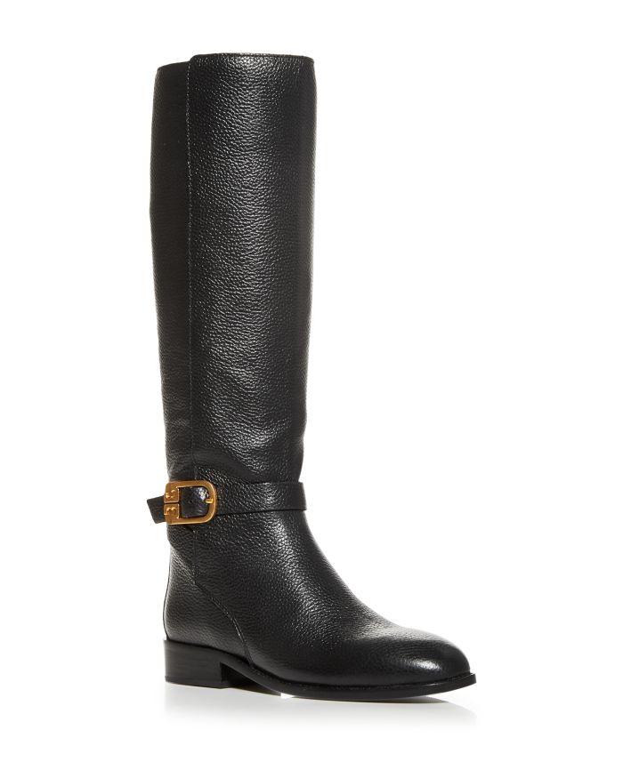 Tory Burch Women's Brooke Buckle Tall Boots     Bloomingdale's