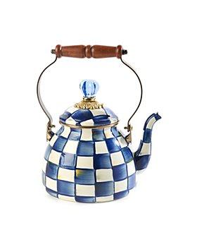 Mackenzie-Childs - Royal Check 2-Quart Tea Kettle