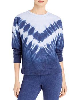 Marc New York - Chevron Tie Dyed Sweatshirt