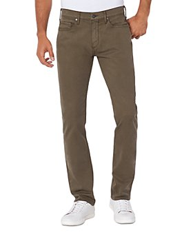 PAIGE - Federal Slim Fit Jeans in Laurel Oak