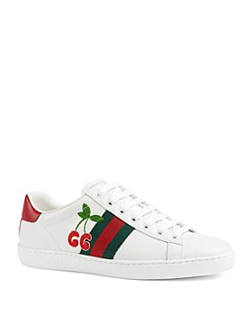 Gucci - Women's New Ace Cherry Sneakers