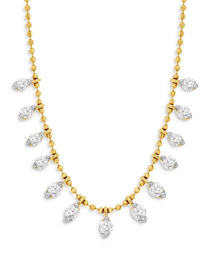 Bloomingdale's - Diamond Drop Necklace in 14K Yellow Gold, 0.50 ct. t.w. - 100% Exclusive