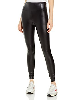 AQUA - Faux Leather Leggings - 100% Exclusive