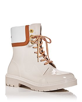 See by Chloé - Women's Lace Up Rain Boots