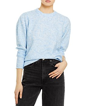 AQUA - Balloon Sleeve Sweater - 100% Exclusive