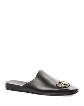 Balenciaga - Women's Flat Cosy BB Mule Slides