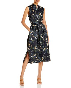 Vince - Rose Field Popover Dress