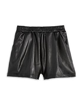 AQUA - Girls' Faux Leather Shorts, Big Kid - 100% Exclusive