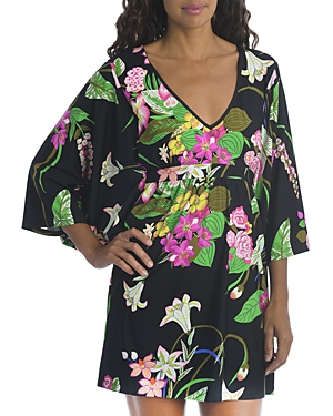 Trina Turk Moonlight Printed Cover Up Tunic