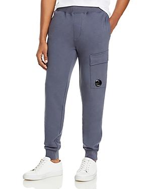 C.p. Company Fleece Lens Jogger Sweatpants-Men