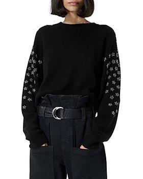 The Kooples - Rhinestone Star Sweater