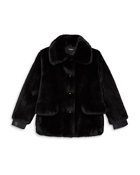 The Kooples - Cropped Faux Fur Jacket