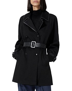 The Kooples - Belted Double Breasted Trench Coat
