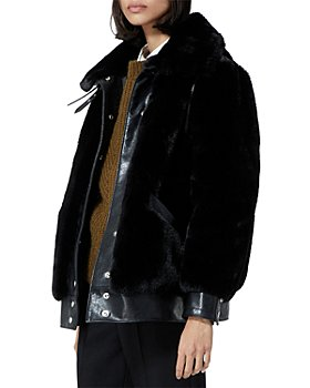 The Kooples - Faux Fur Bomber Jacket