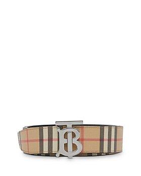 Burberry - Reversible Monogram Motif Vintage Check Belt
